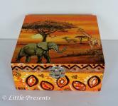 Schmuckbox, Geschenkbox Elefanten