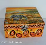 Schmuckbox, Geschenkbox Afrika