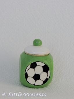 Lockendose, Zahnfeebox Fussball