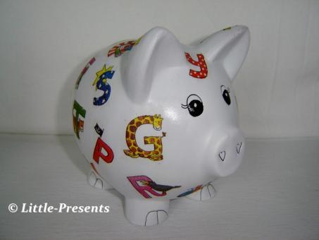 Sparschweinchen ABC