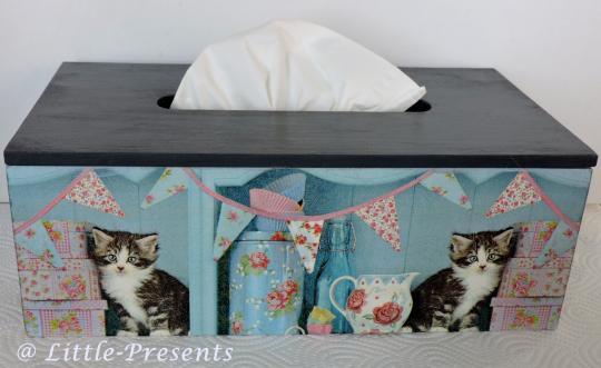 Tücherbox süsse Katzen