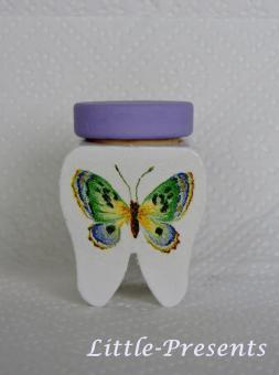 Milchzahndose Schmetterling