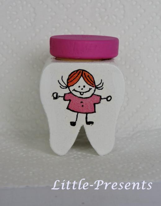 Milchzahndose Mädchen, pink
