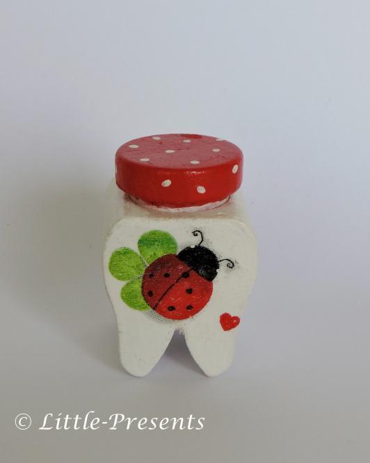Milchzahndose Marienkäfer