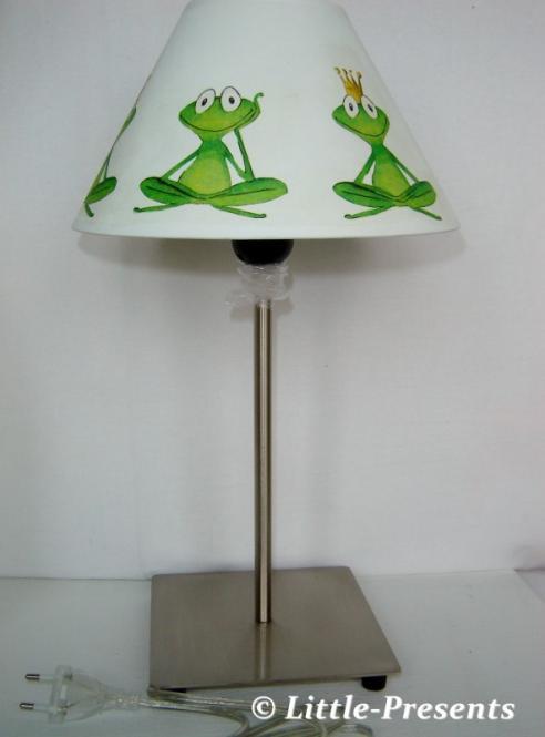 Stehlampe, Tischlampe fröhliche Frösche
