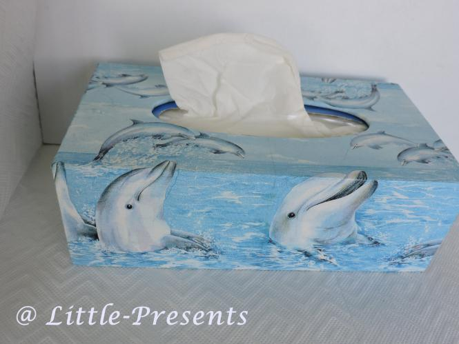 Tücherbox Delfine