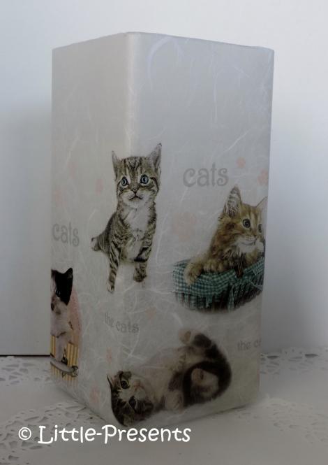 Tischlampe süsse Katzen