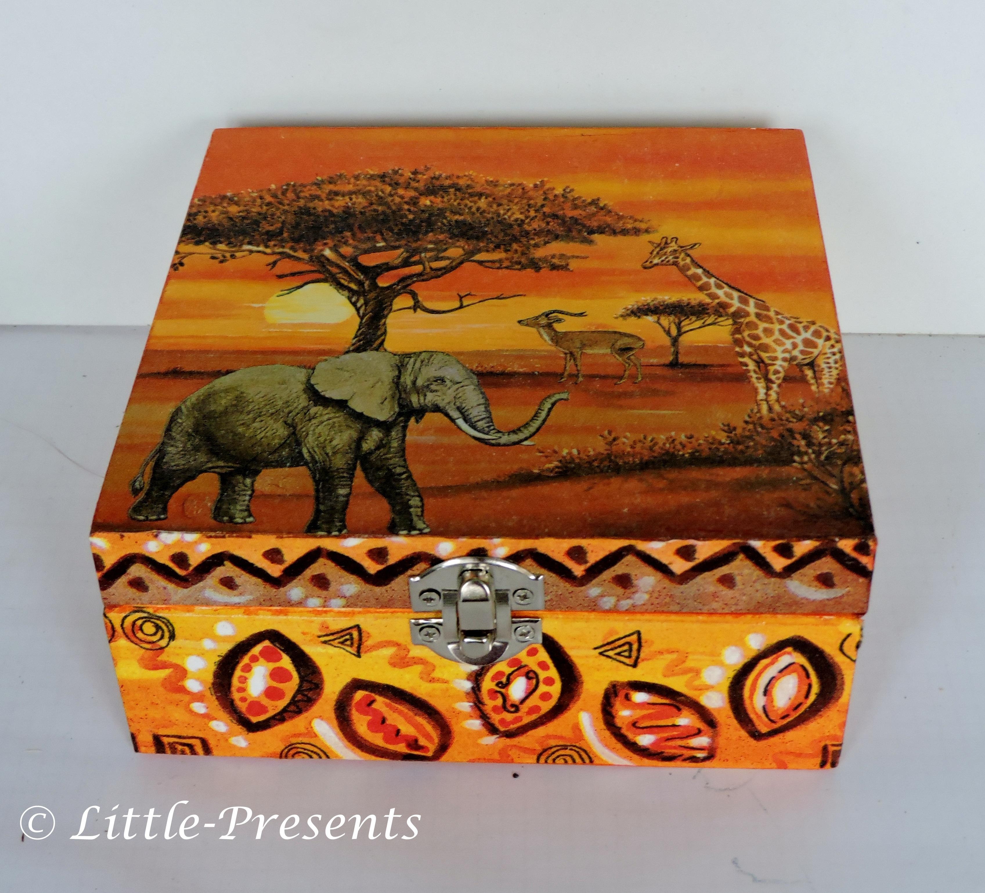 Little-Presents | Schmuckbox, Geschenkbox Elefanten | Wohnraumdeko ...