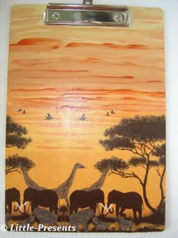 Klemmbrett, Zettelhalter Afrika