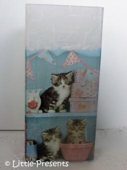 Tischlampe niedliche Katzen