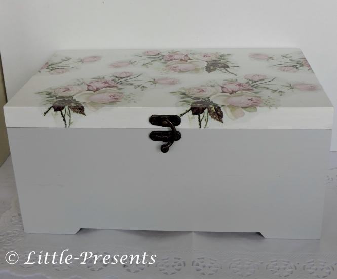 gro0e Schmuckbox, Sammelbox romantische Rosen