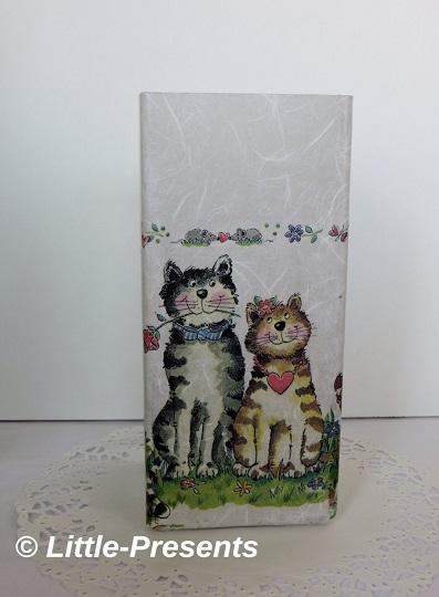 Tischlampe Katzenpärchen
